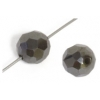 Magnetic Round Faceted 8mm 16in Strand Hematite